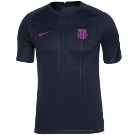Черная тренировочная футболка Барселоны Жорди Альба 2021-2022