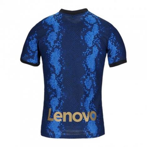Домашняя аутентичная футболка Интера 2021-2022 сзади