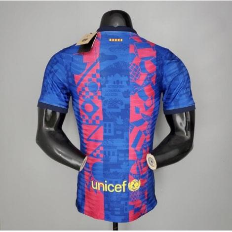 Третья аутентичная футболка Барселоны 2021-2022