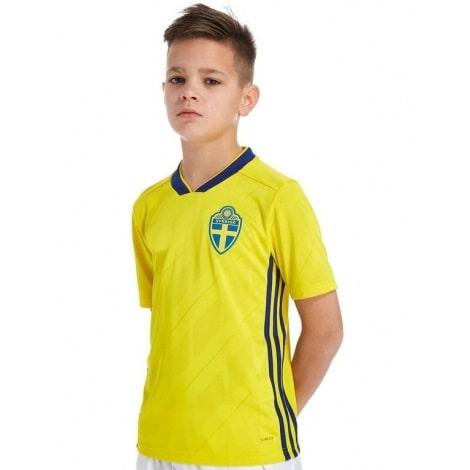 Детская домашняя футбольная форма Швеции на ЧМ 2018
