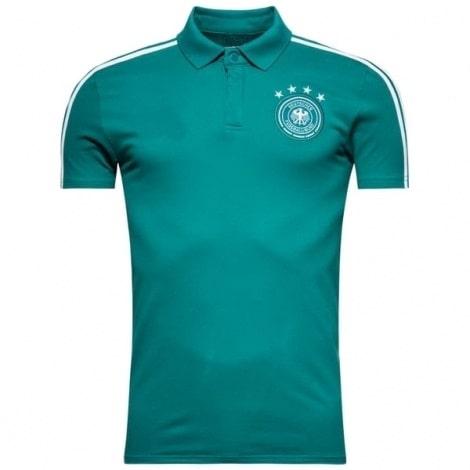 Бирюзовая футболка поло сборной Германии на ЧМ 2018