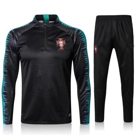 Спортивный костюм сборной Португалии по футболу 2018 олимпийка и штаны