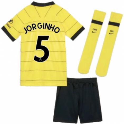 Детская гостевая форма Челси Жоржиньо 2021-2022