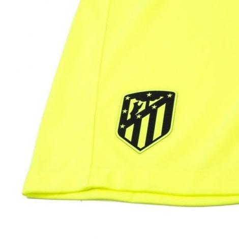 Комплект детской третьей формы Атлетико 2020-2021 шорты герб клуба