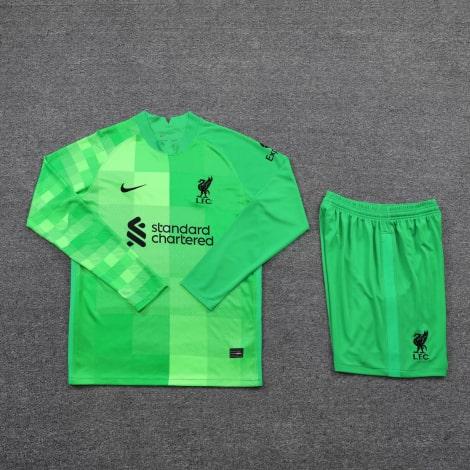 Вратарская домашняя форма Ливерпуля 21-22 с длинными рукавами