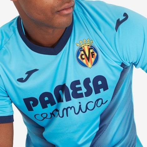 Третья игровая футболка Вильярреал 2019-2020 титульный спонсор
