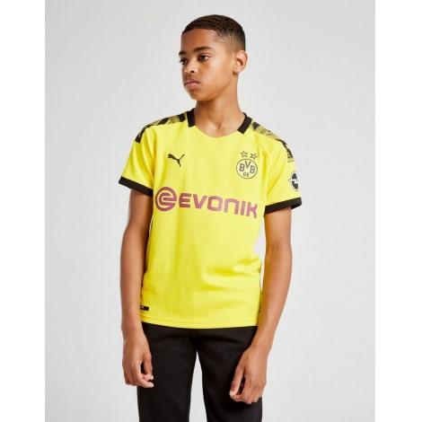Детская домашняя форма Боруссии Марко Ройс 2019-2020 футболка шорты и гетры спереди