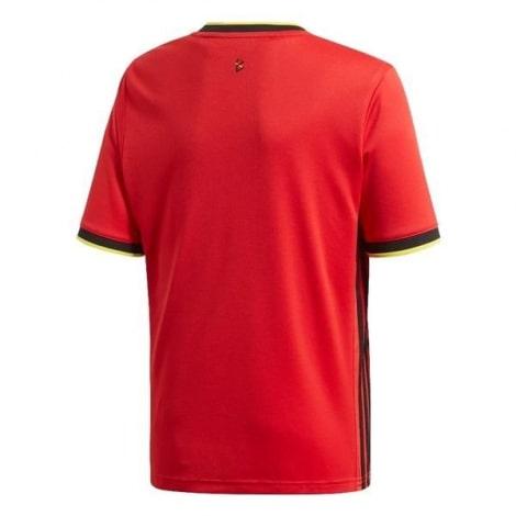 Домашняя футболка сборной Бельгии на ЕВРО 2020 сзади