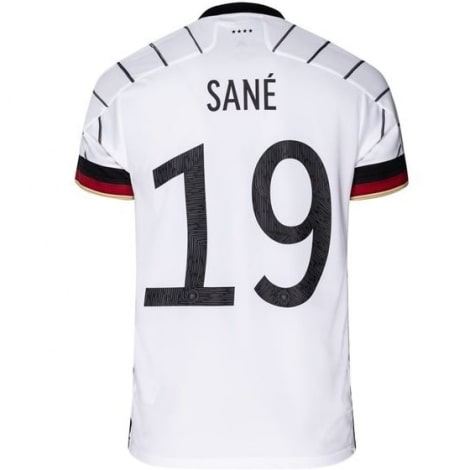 Домашняя футболка Германии Лерой Сане на ЕВРО 2020 номер 19