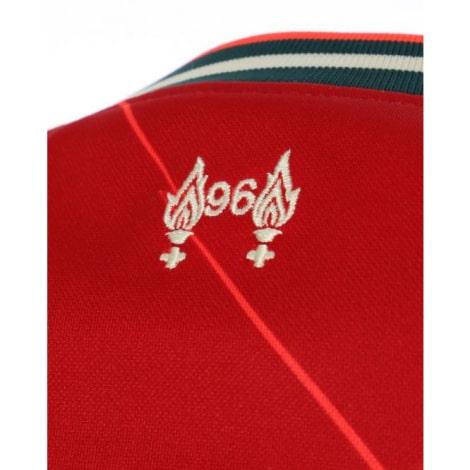 Домашняя футболка Ливерпуля 2021-2022 Садио Мане логотип сзади