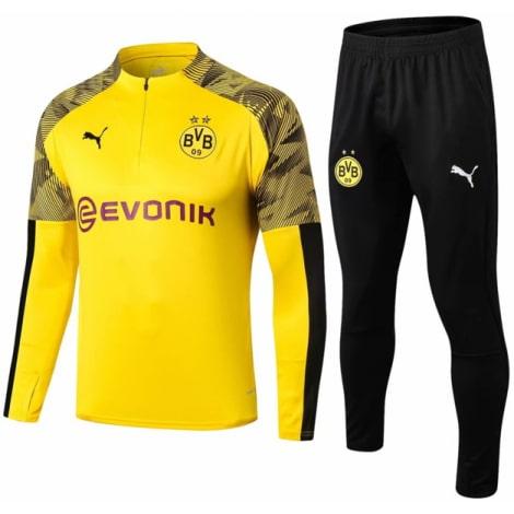 Взрослый желто-черный костюм Боруссии Дортмунд 19-20