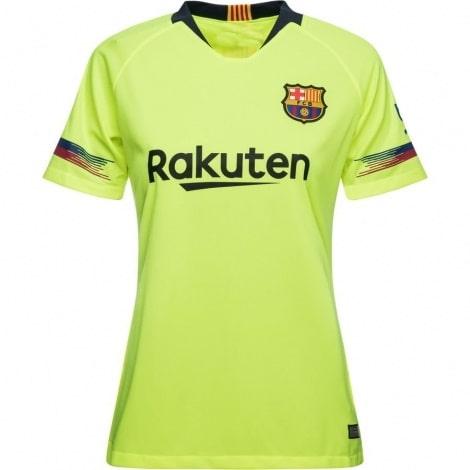 Женская гостевая футболка Барселоны 2018-2019
