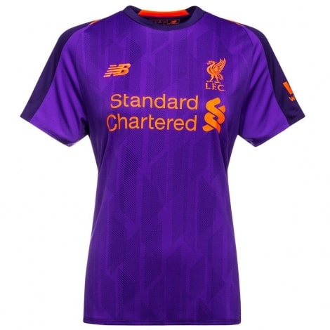 Женская гостевая футболка Ливерпуля 2018-2019