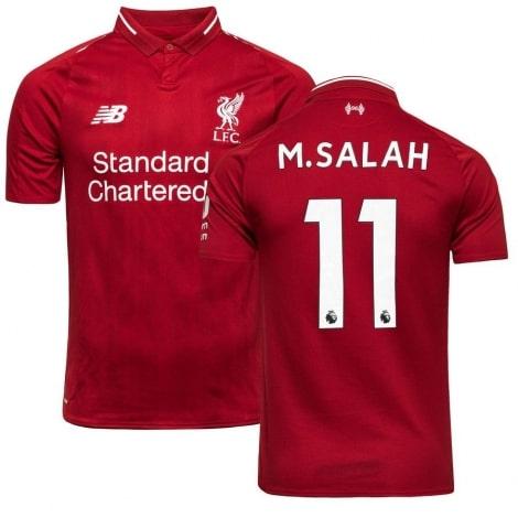 Домашняя футболка Ливерпуля 2018-2019 Мохаммед Салах номер 11