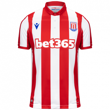 Домашняя игровая футболка Сток Сити 2019-2020
