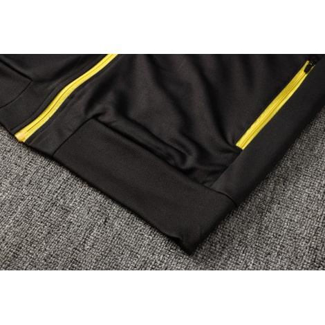 Черный спортивный костюм Ювентуса 2021-2022 снизу