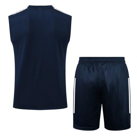 Темно-синяя тренировочная форма Бока Хуниорс 2021-2022 сзади
