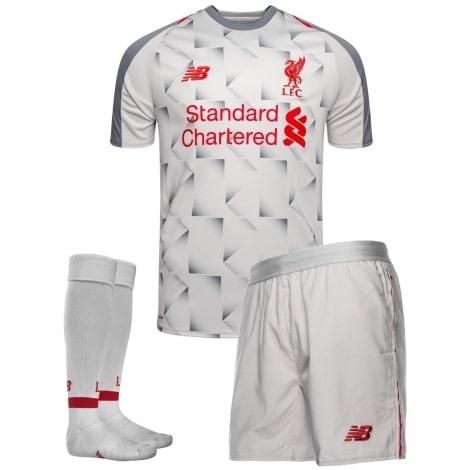 Комплект детской третьей формы Ливерпуля 2018-2019 футболка шорты и гетры