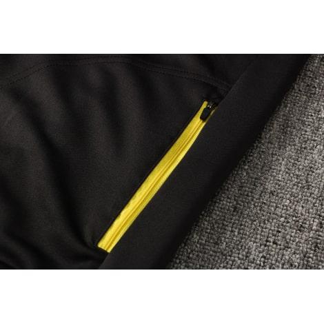 Черный спортивный костюм Ювентуса 2021-2022 карман