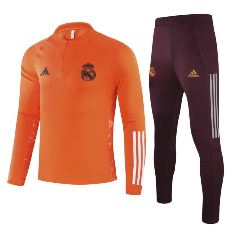 Бордово-оранжевый костюм Реал Мадрид 2021-2022