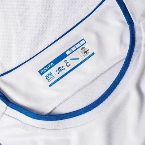 Третья игровая футболка Депортиво 2018-2019 воротник