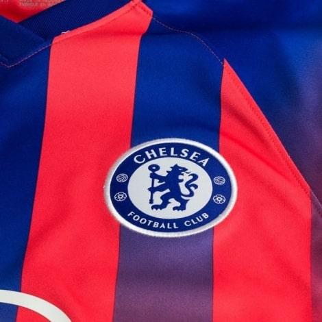 Комплект детской третьей формы Челси Тимо Вернер 2020-2021 футболка герб клуба