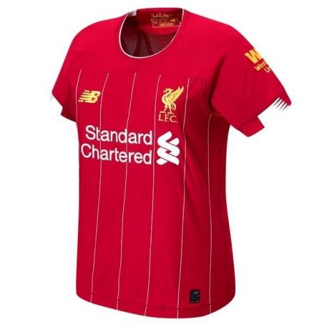 Женская домашняя футболка Ливерпуля 2019-2020