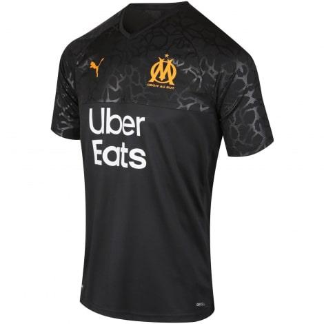 Комплект взрослой гостевой формы Марселя 2019-2020 футболка