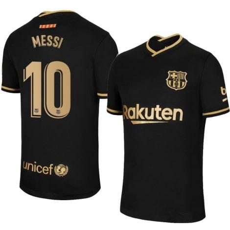 Гостевая футболка Барселоны 2020-2021 Лионель Месси номер 10