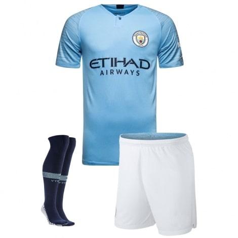 Взрослая домашняя форма Манчестер Сити 2018-2019