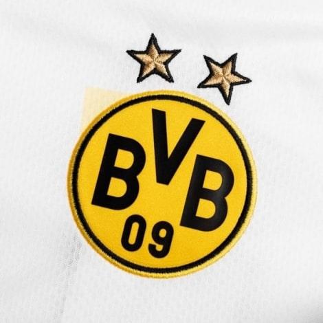 Комплект детской третьей формы Боруссии 2020-2021 футболка Холанн герб клуба