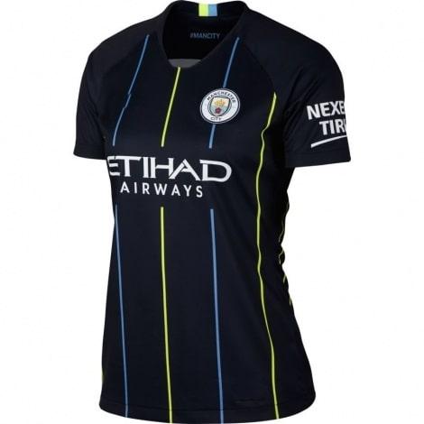 Женская гостевая футболка Манчесетр Сити 2018-2019