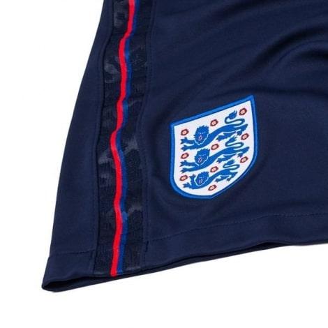 Женская домашняя футболка Англии на Чемпионат Европы 2020 сзади