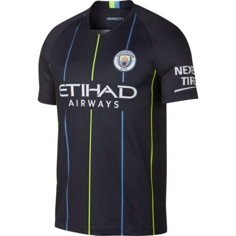 Гостевая игровая футболка Манчестер Сити 2018-2019