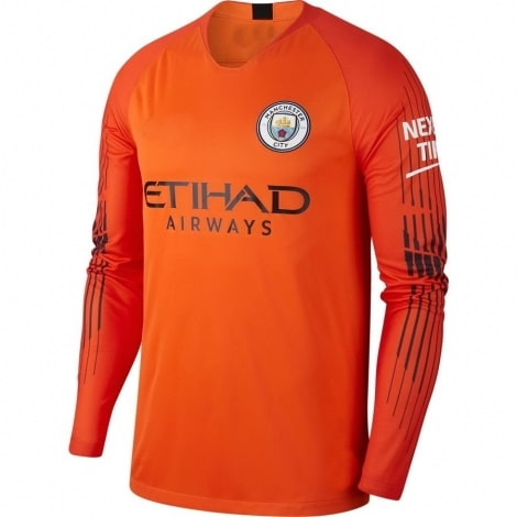 Вратарская домашняя футболка Манчестер Сити 2018-2019