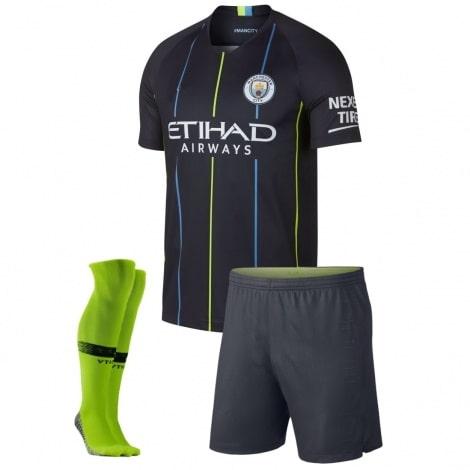 Детская гостевая форма Манчестер Сити 2018-2019
