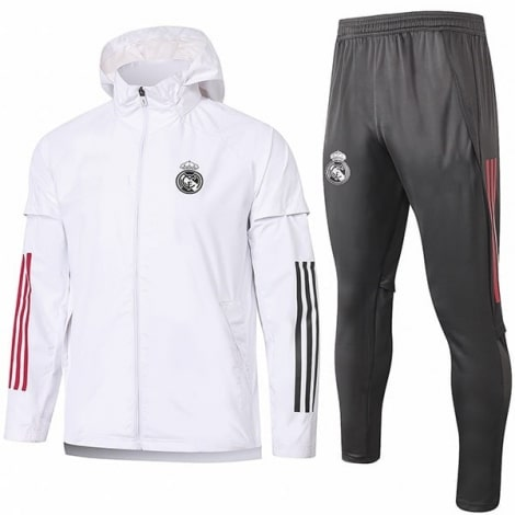 Серо-белый костюм Реал Мадрид 2020-2021