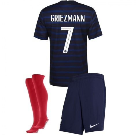 Детская домашняя форма Франции Гризманн на ЕВРО 20-21