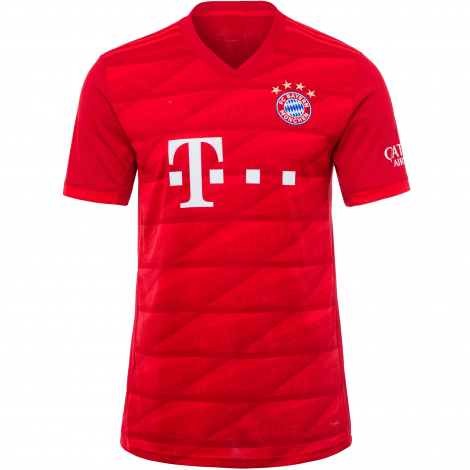 Домашняя футболка Баварии 2019-2020 Роберт Левандовски спереди