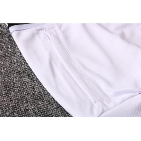 Черно-белый спортивный костюм Ювентуса 2021-2022 карман