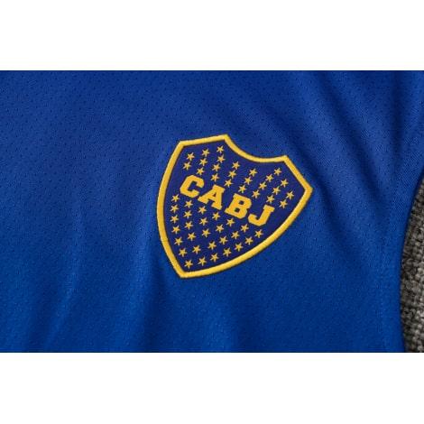 Синяя тренировочная форма Бока Хуниорс 2021-2022 герб клуба