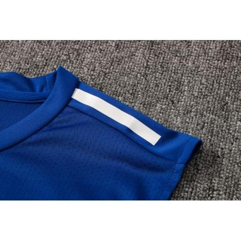 Синяя тренировочная форма Бока Хуниорс 2021-2022 плечо