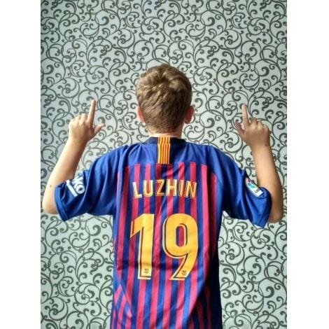 Детская форма Барселоны 2018-2019