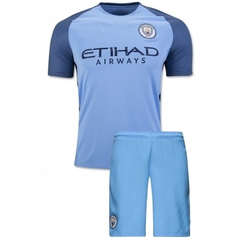 Домашняя футбольная форма Манчестер Сити 2016-2017