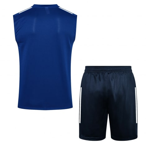 Синяя тренировочная форма Бока Хуниорс 2021-2022 сзади