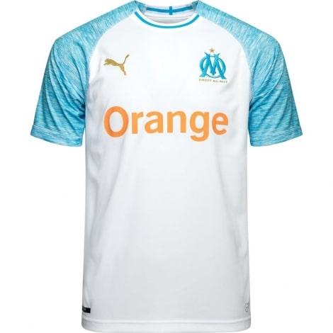 Домашняя игровая футболка Марселя 2018-2019