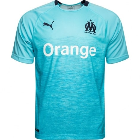Третья игровая футболка Марселя 2018-2019