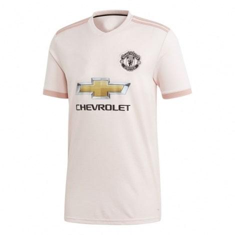 Футболка детской гостевой формы Манчестер Юнайтед 2018-2019