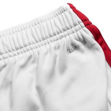 Комплект взрослой домашней формы Арсенала 2019-2020 шорты вблизи