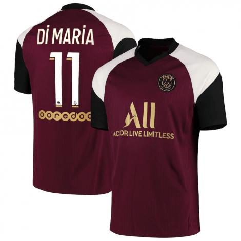 Третья футболка ПСЖ 2020-2021 Ди Мария номер 11